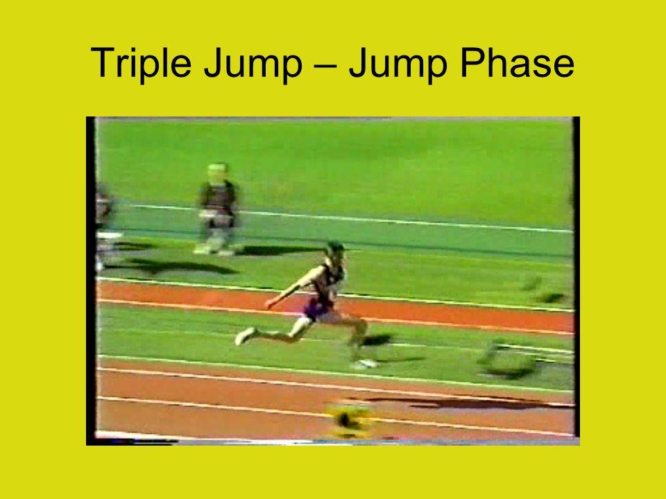 Triple Jump – Jump Phase