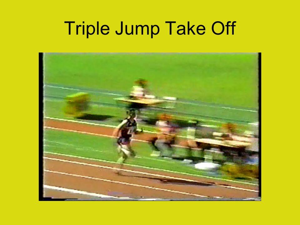 Triple Jump Take Off