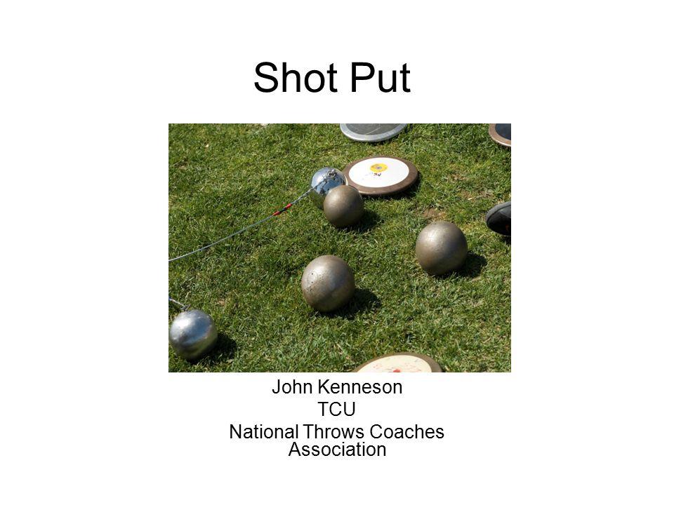 Shot Put John Kenneson TCU National Throws Coaches Association