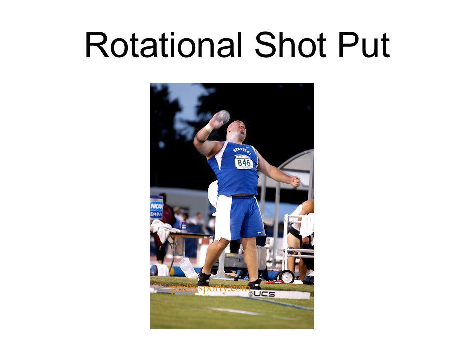 Rotational Shot Put