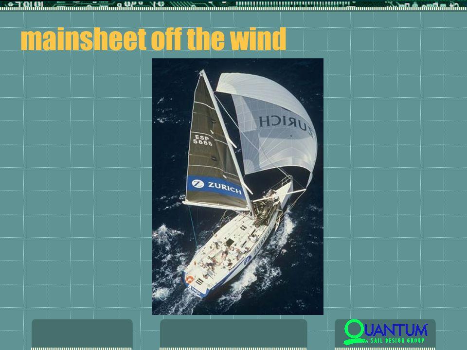 mainsheet off the wind