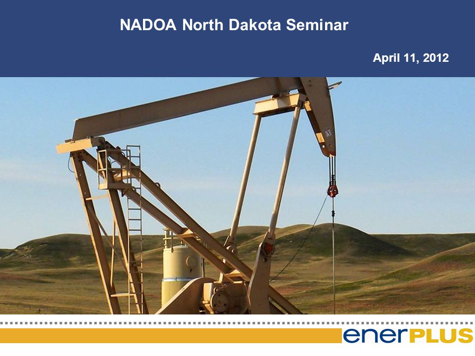 The Game Plan NADOA North Dakota Seminar April 11, 2012