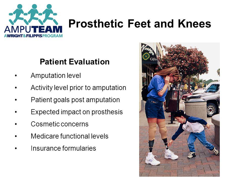 Prosthetic Feet Multi-Axial, Energy Storing Feet – Gait Deviations 1.