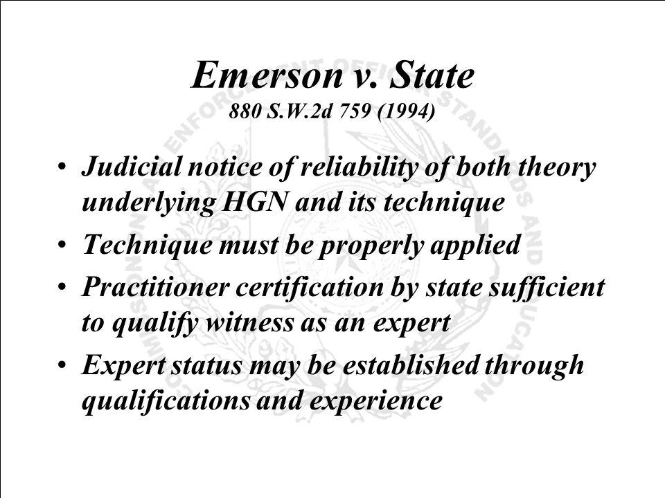Emerson v.