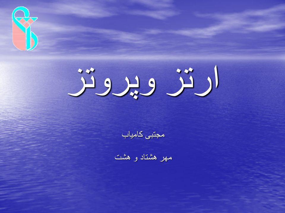 ارتز وپروتز مجتبی کامیاب مهر هشتاد و هشت