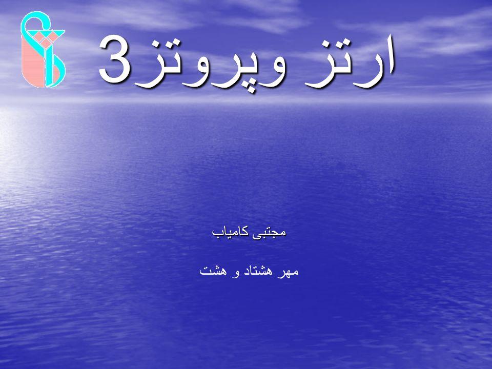 ارتز وپروتز3 ارتز وپروتز3 مجتبی کامیاب مهر هشتاد و هشت