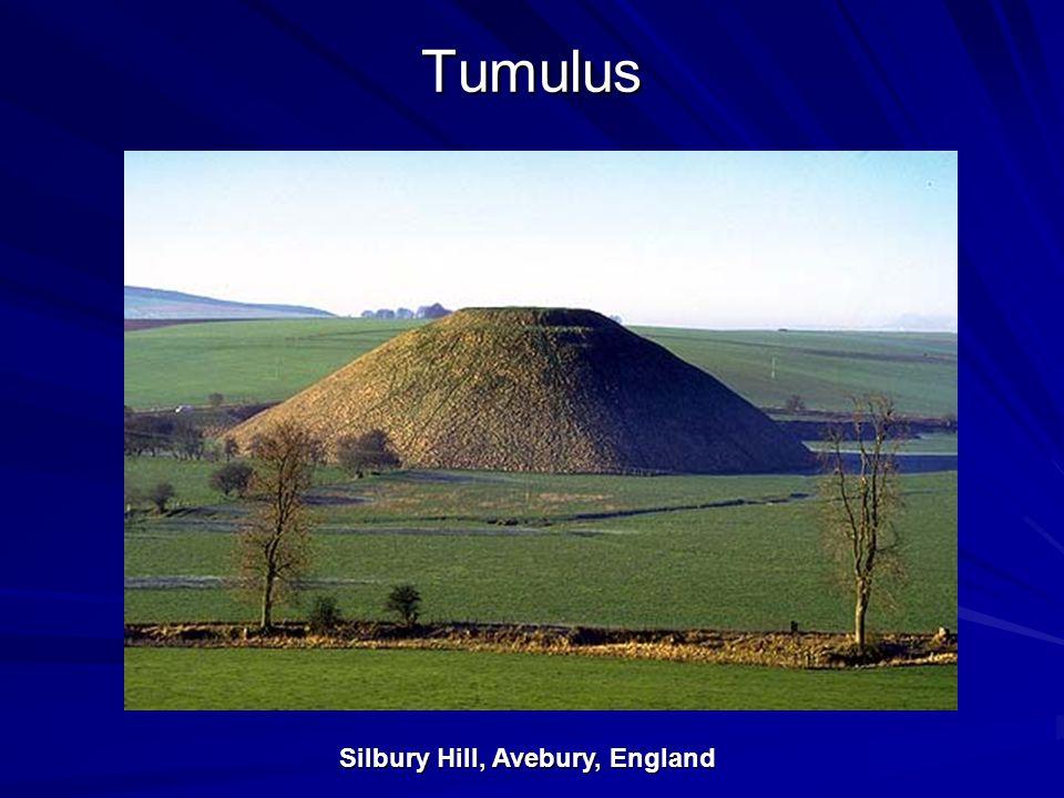 Tumulus Silbury Hill, Avebury, England