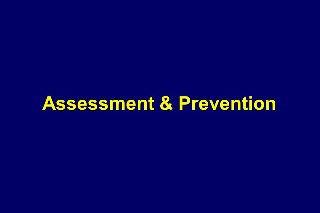 Assessment & Prevention