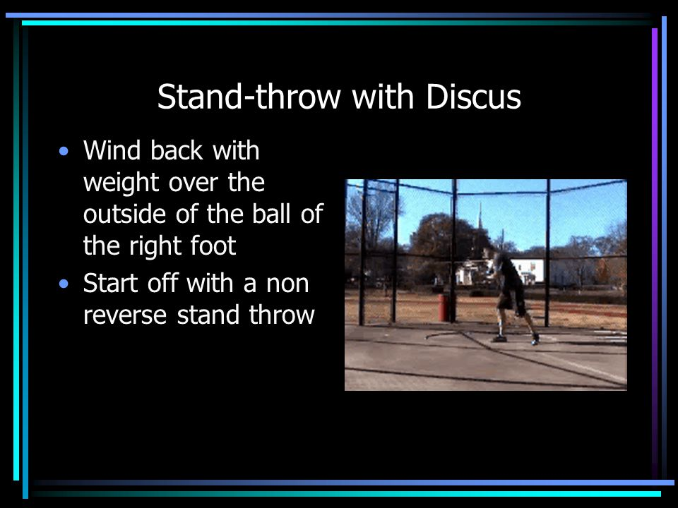 Stand-throw with Throwing Ball Throwing into wall allows for lots of repetition in a short amount of time Wall can help with alignment