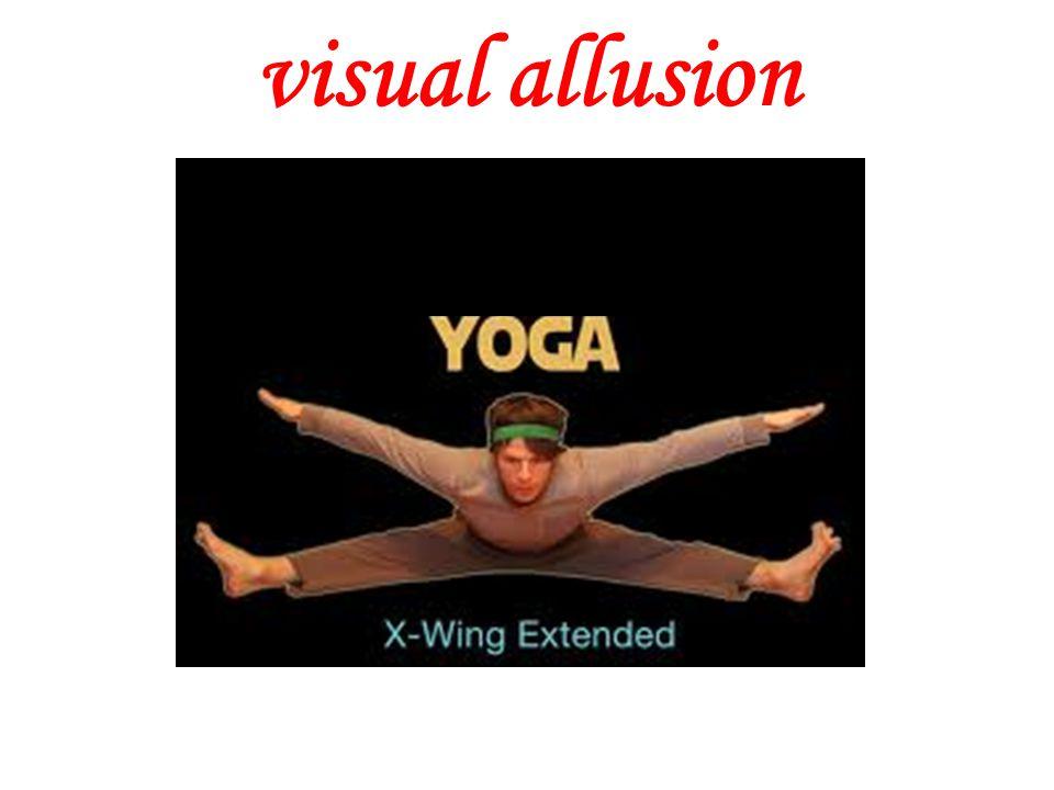 visual allusion