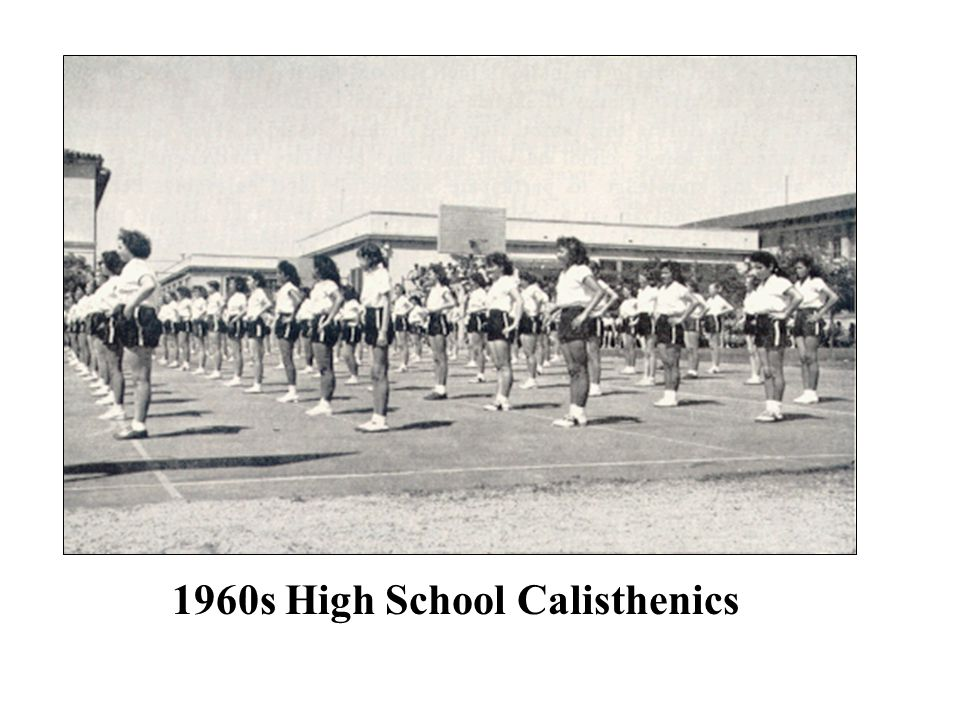1960s High School Calisthenics