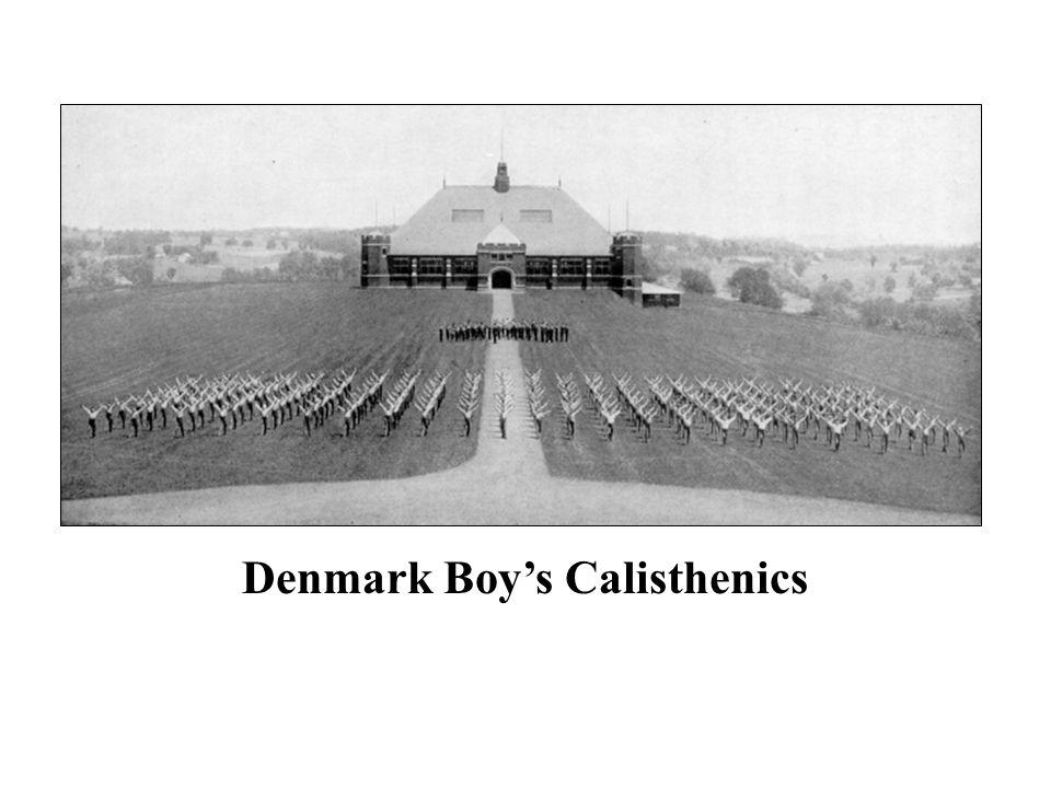 Denmark Boy's Calisthenics