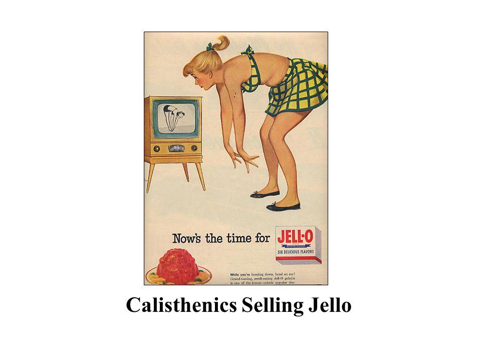 Calisthenics Selling Jello