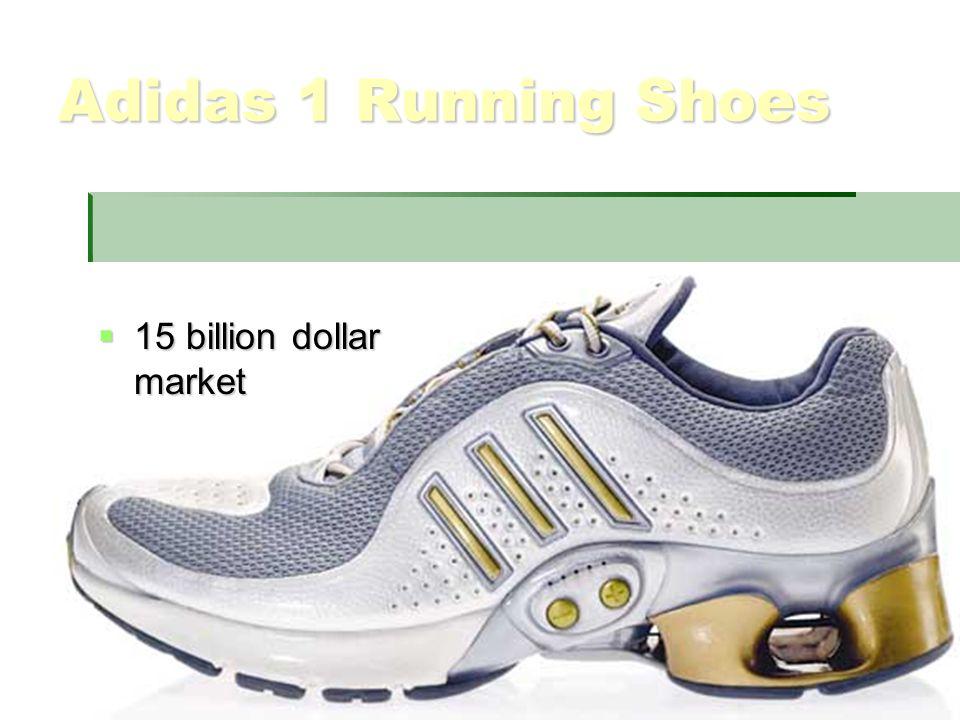 Adidas 1 Running Shoes  15 billion dollar market