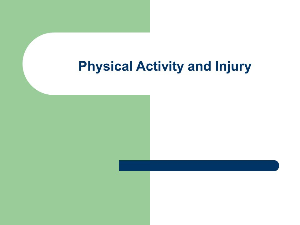 PREVENTION GUIDELINES: 1) Start Slowly 2) Listen to body 3) Warm-up/Cool downs 4) Be Fit 5) Moderation 6) Dress Appropriately