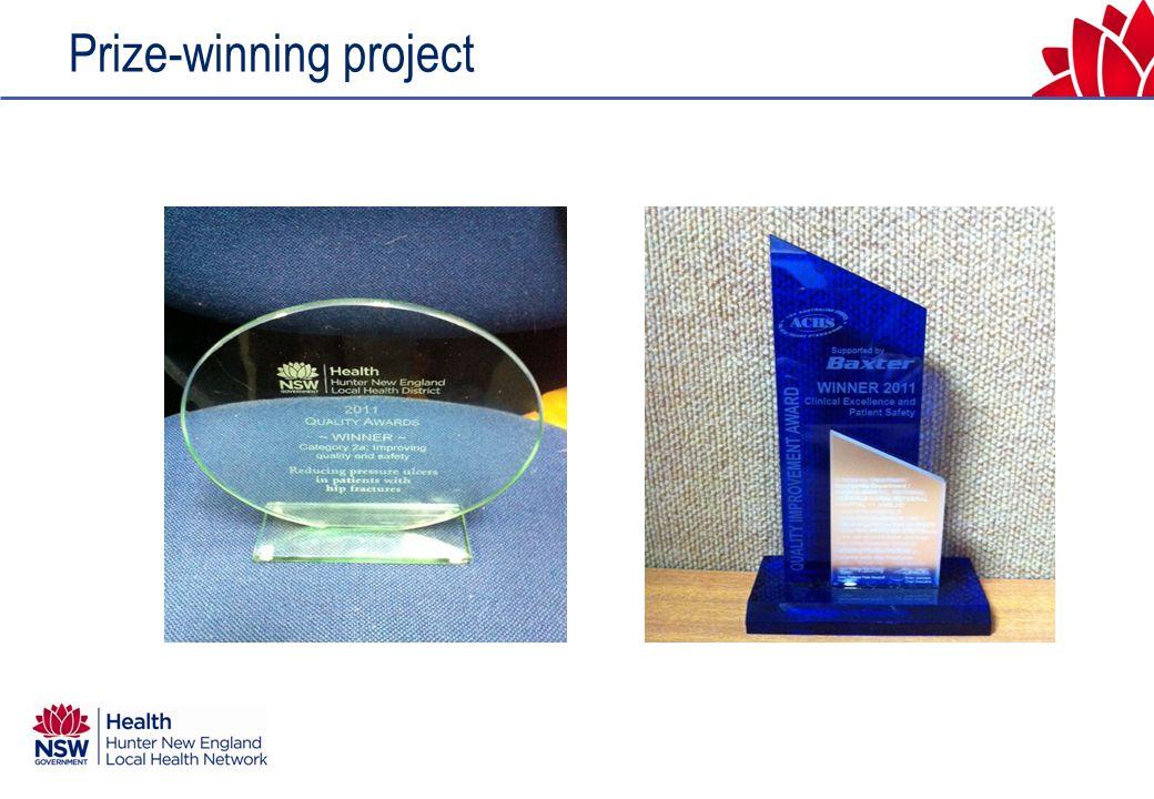 Prize-winning project