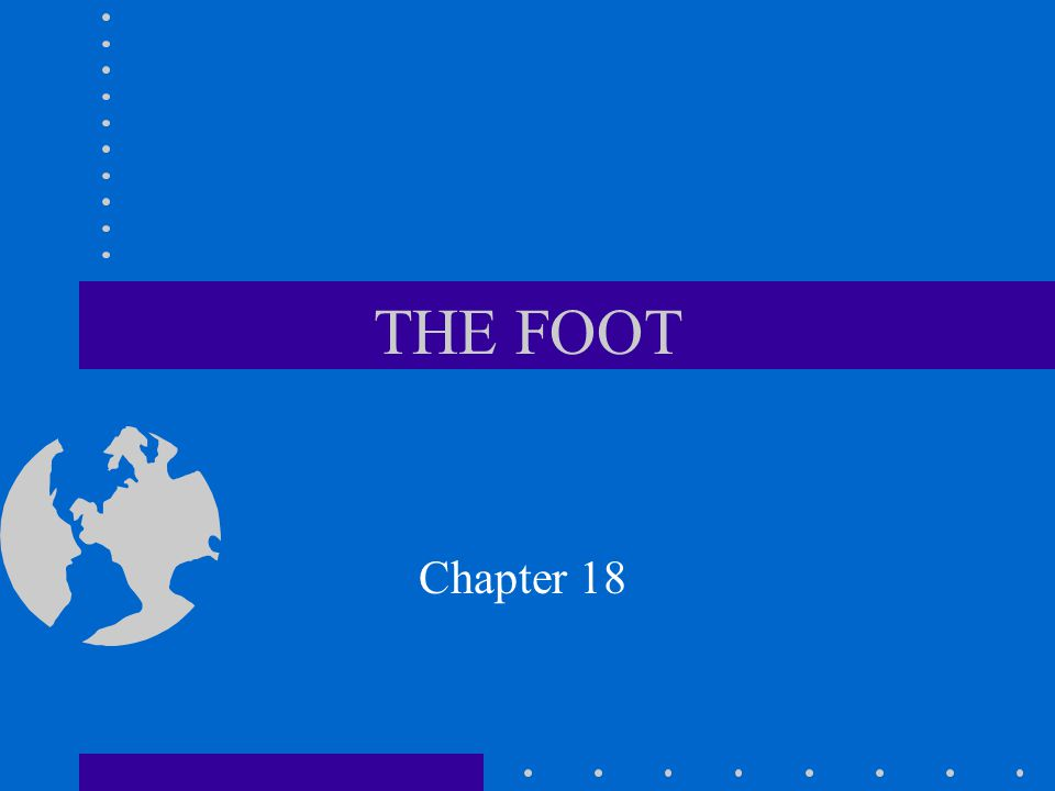 THE FOOT Chapter 18