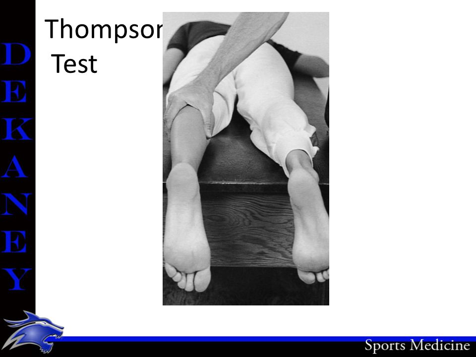 Thompson Test