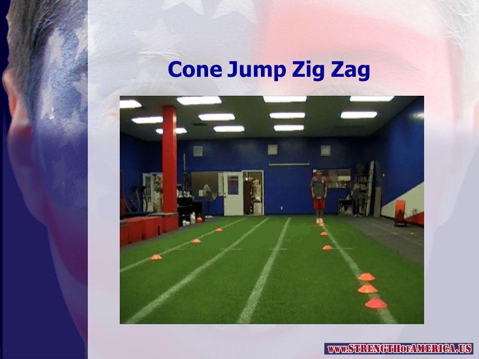 Cone Jump Zig Zag