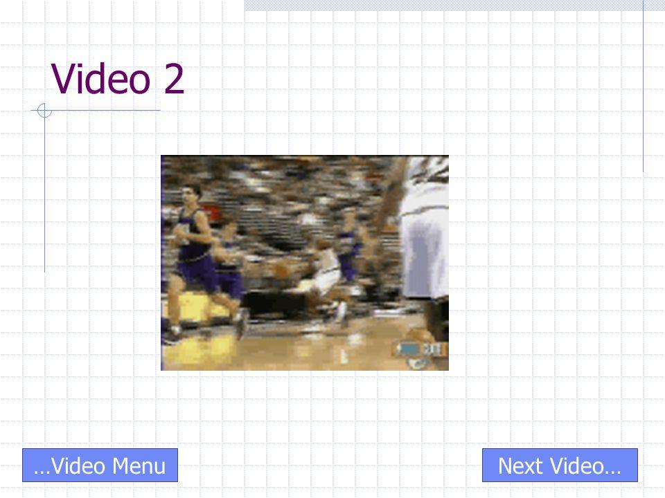 Video 2 Next Video……Video Menu