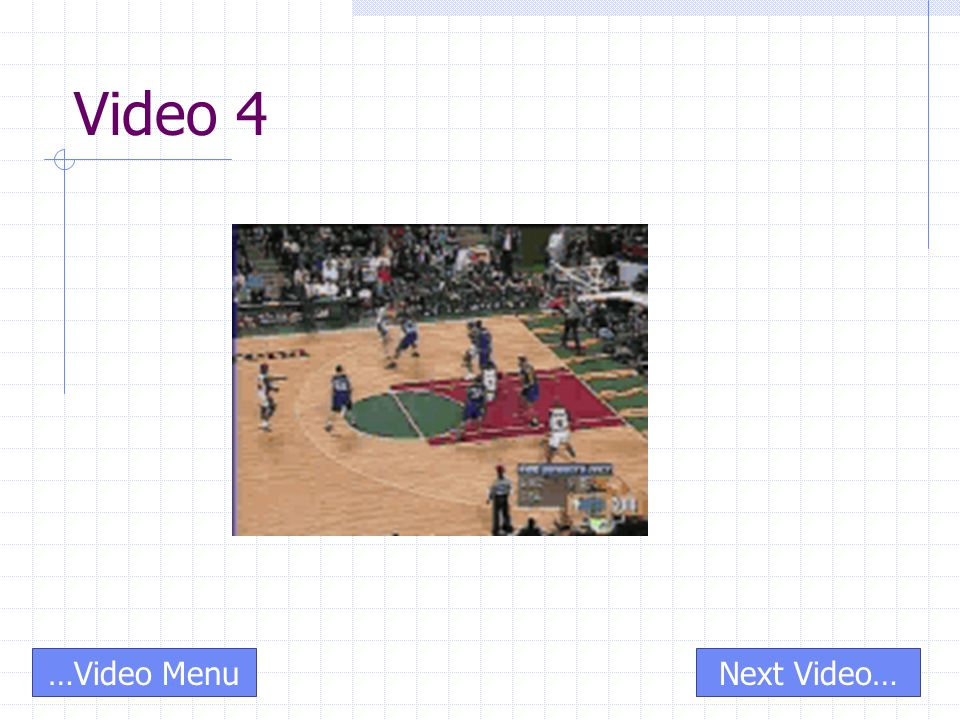 Video 4 Next Video……Video Menu