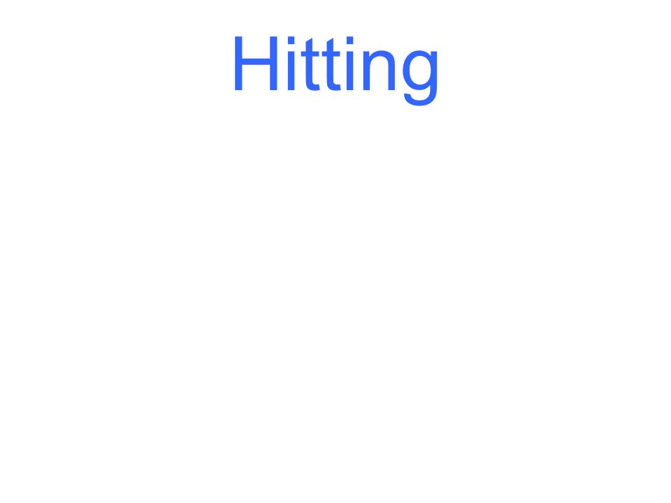 There are many different styles of hitting, but there are a few consistencies when it comes to point of contact
