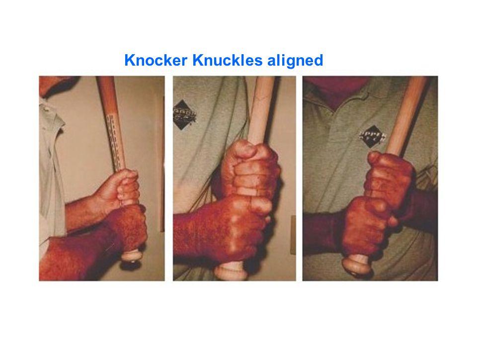 Slot Heel/toe Knee Locked-out