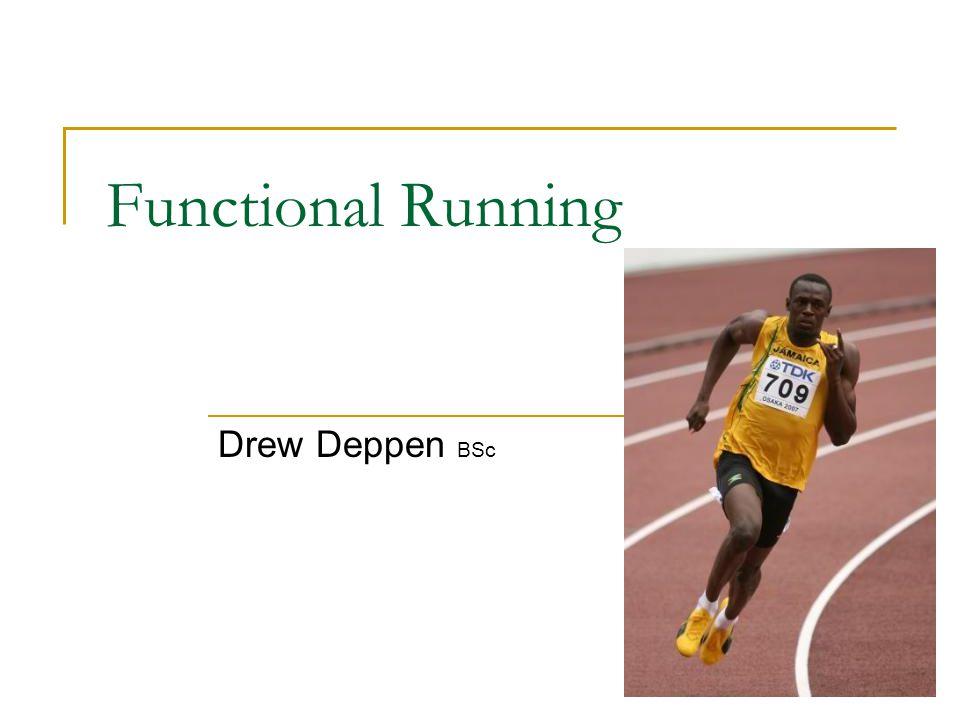 Why running.