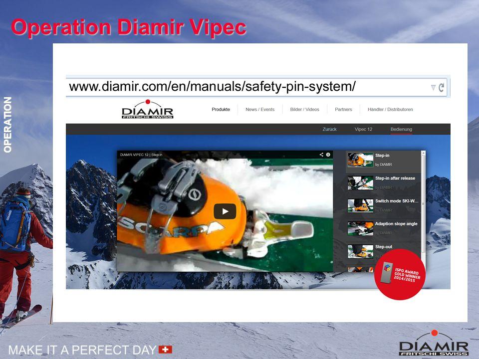 Operation Diamir Vipec OPERATION
