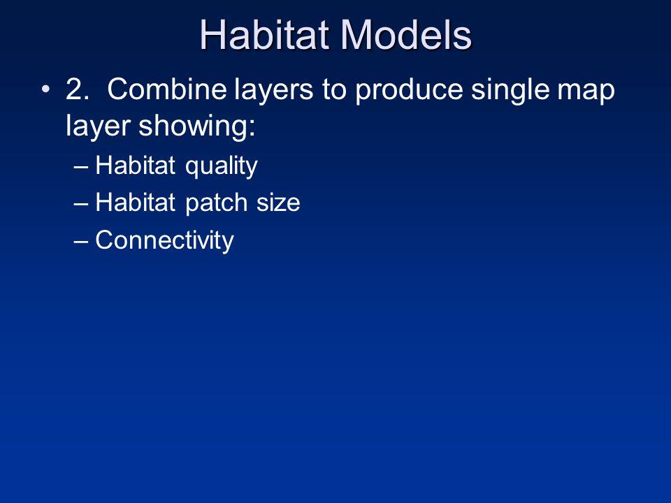 Habitat Models 2.