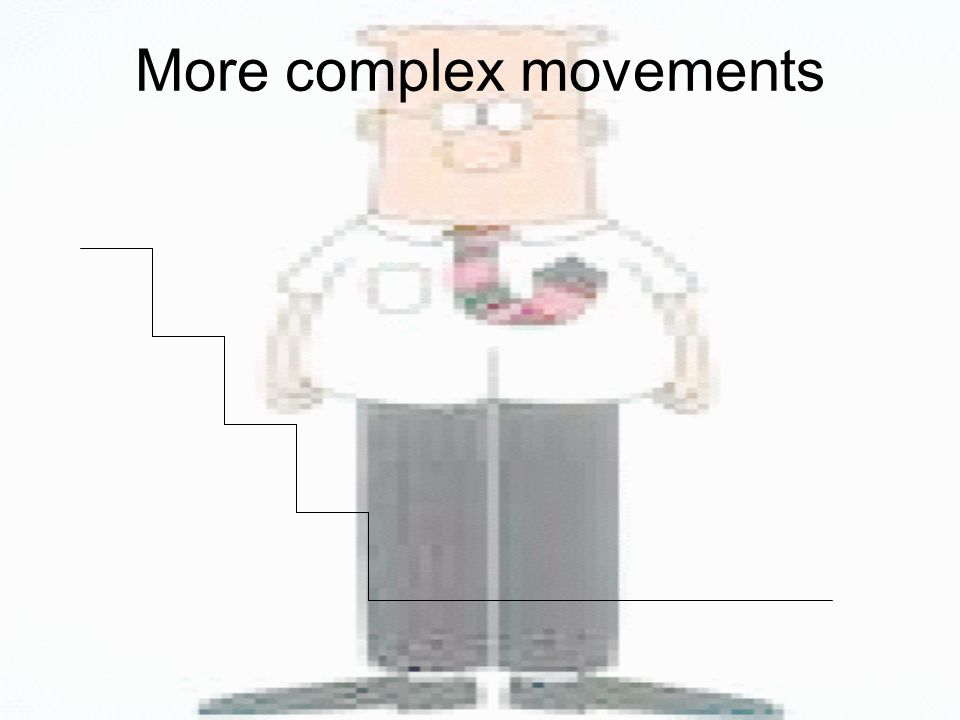 More complex movements