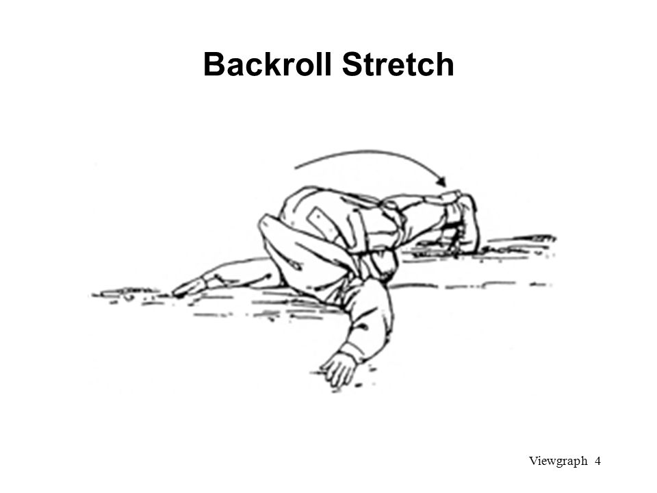 Viewgraph 4 Backroll Stretch