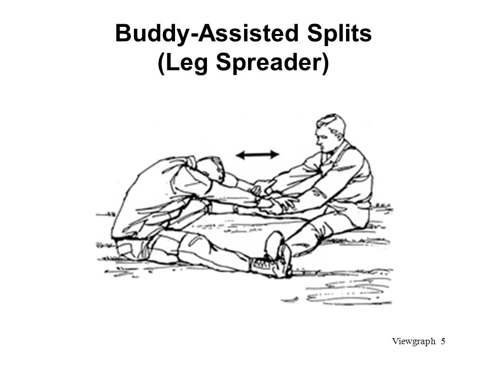 Viewgraph 5 Buddy-Assisted Splits (Leg Spreader)