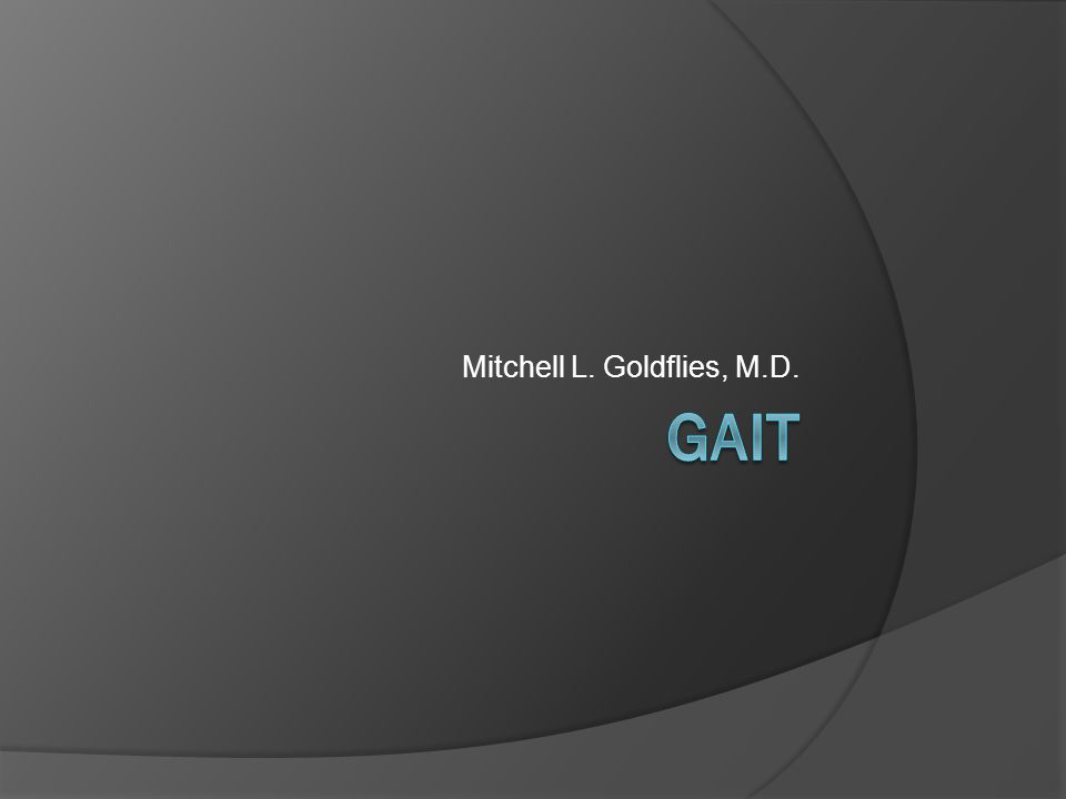 Mitchell L. Goldflies, M.D.