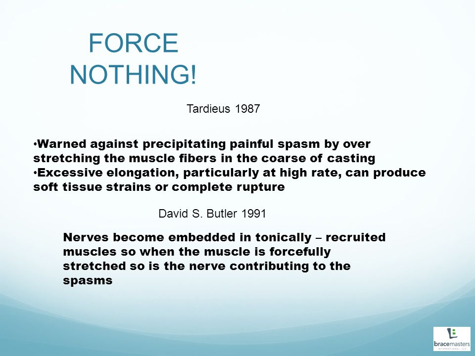 FORCE NOTHING.