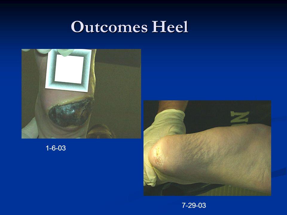Outcomes Heel 1-6-03 7-29-03