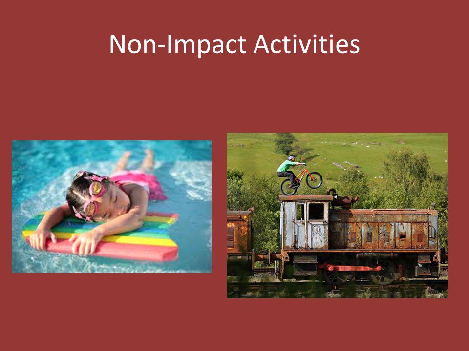 Non-Impact Activities