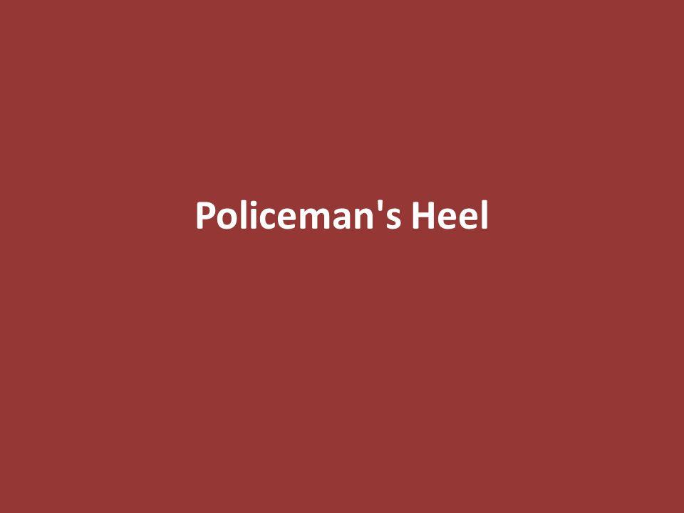 Policeman s Heel