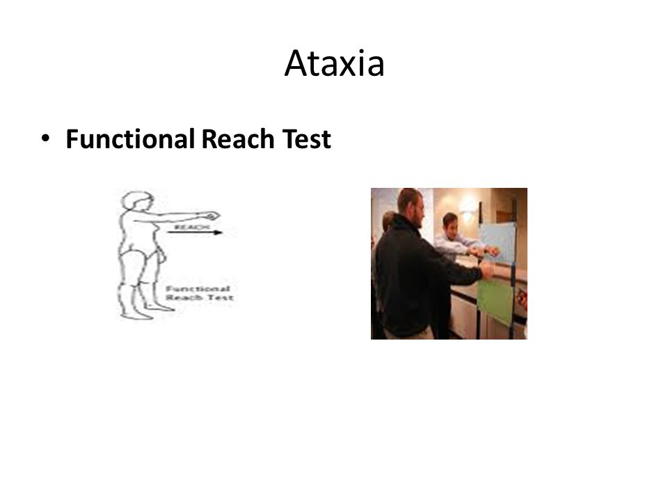 Ataxia Functional Reach Test