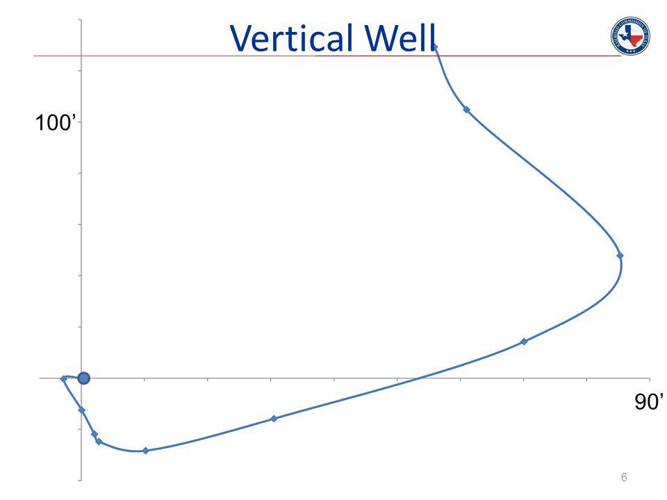 Vertical Well 6 100' 90'