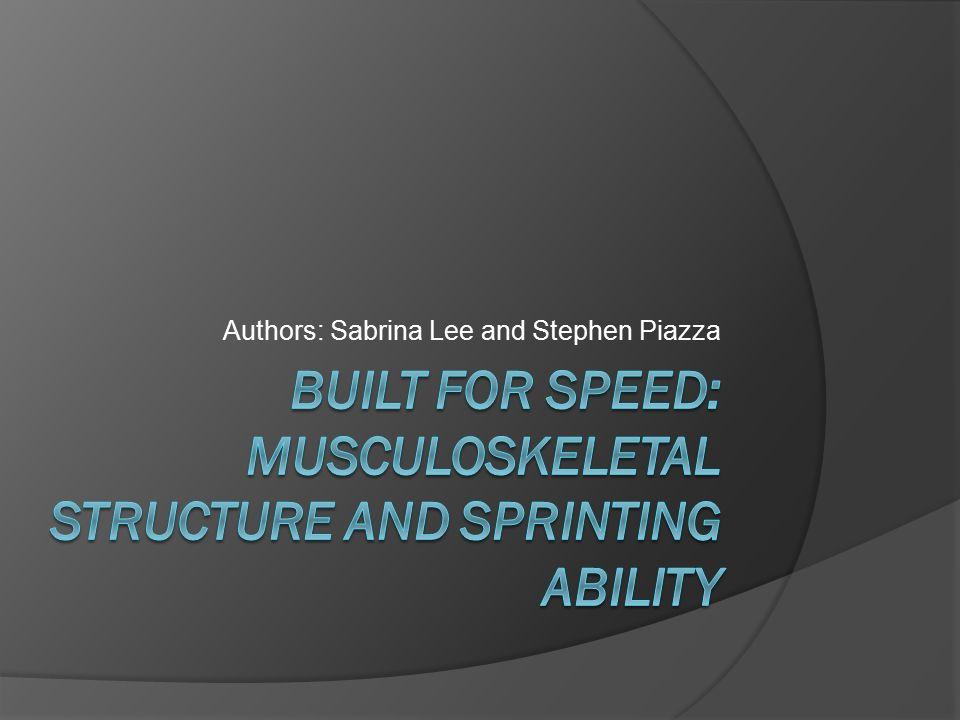 Authors: Sabrina Lee and Stephen Piazza