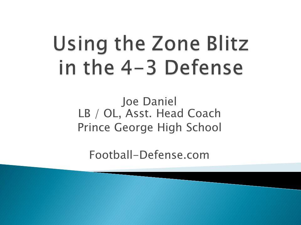 Joe Daniel LB / OL, Asst. Head Coach Prince George High School Football-Defense.com