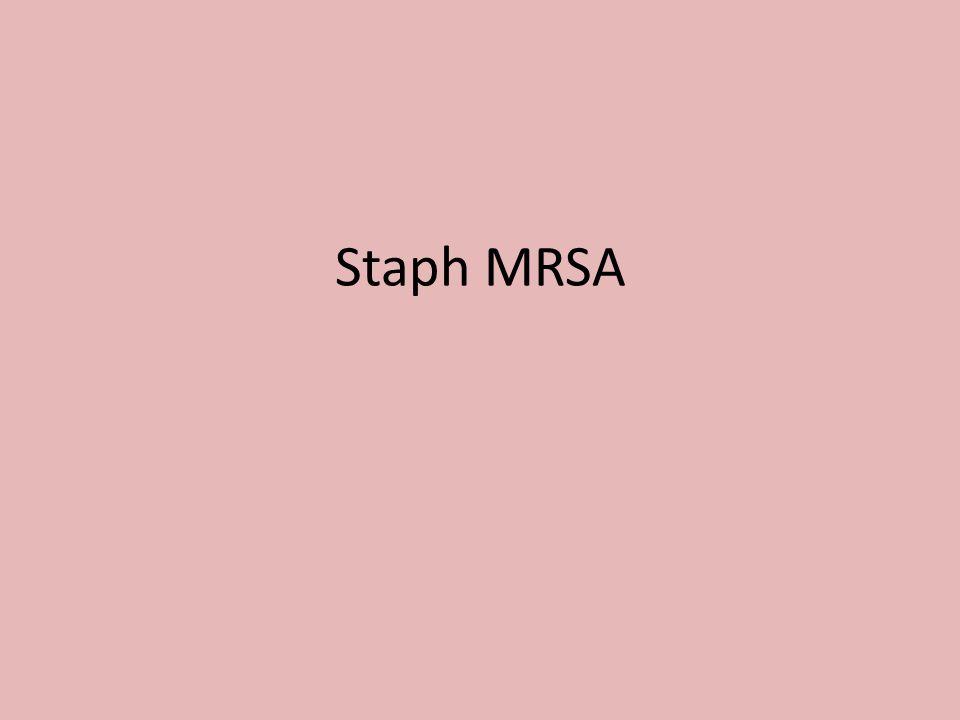 Staph MRSA