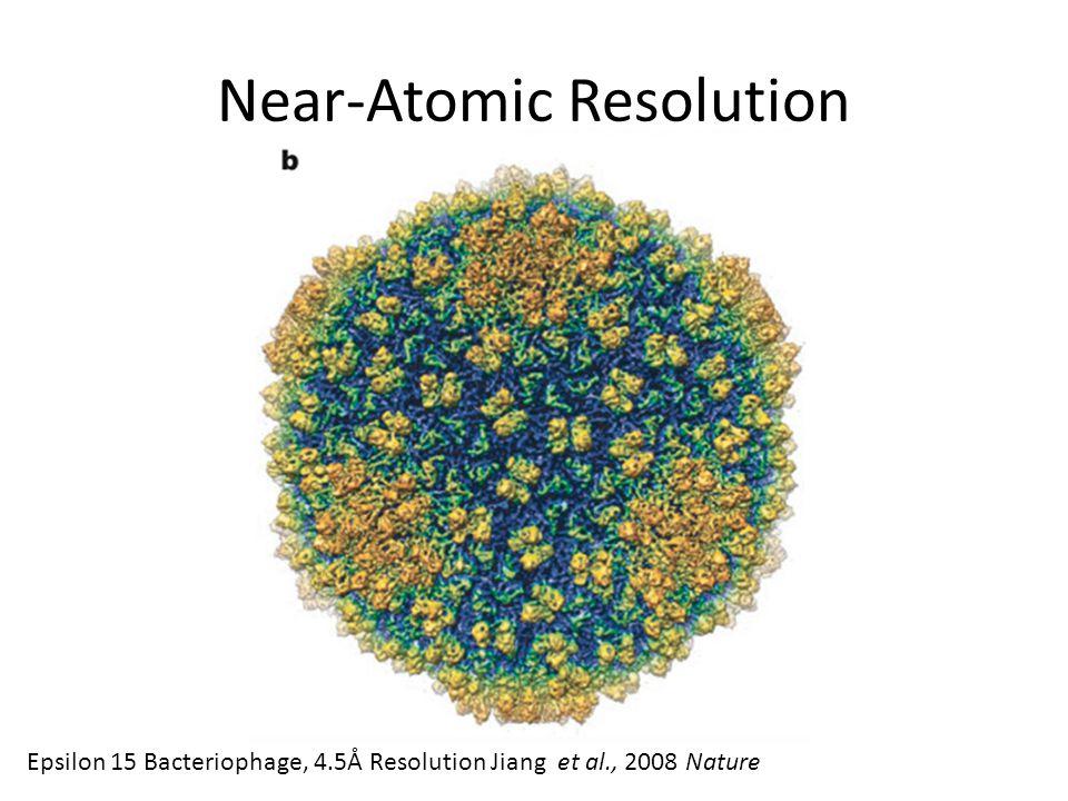 Near-Atomic Resolution Epsilon 15 Bacteriophage, 4.5Å Resolution Jiang et al., 2008 Nature