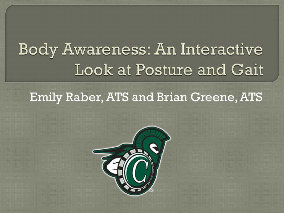 Emily Raber, ATS and Brian Greene, ATS