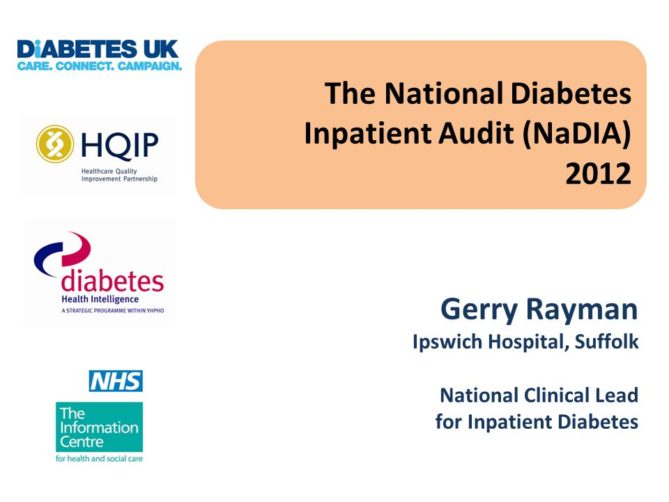 The Burden of Inpatient Diabetes- Bed Usage