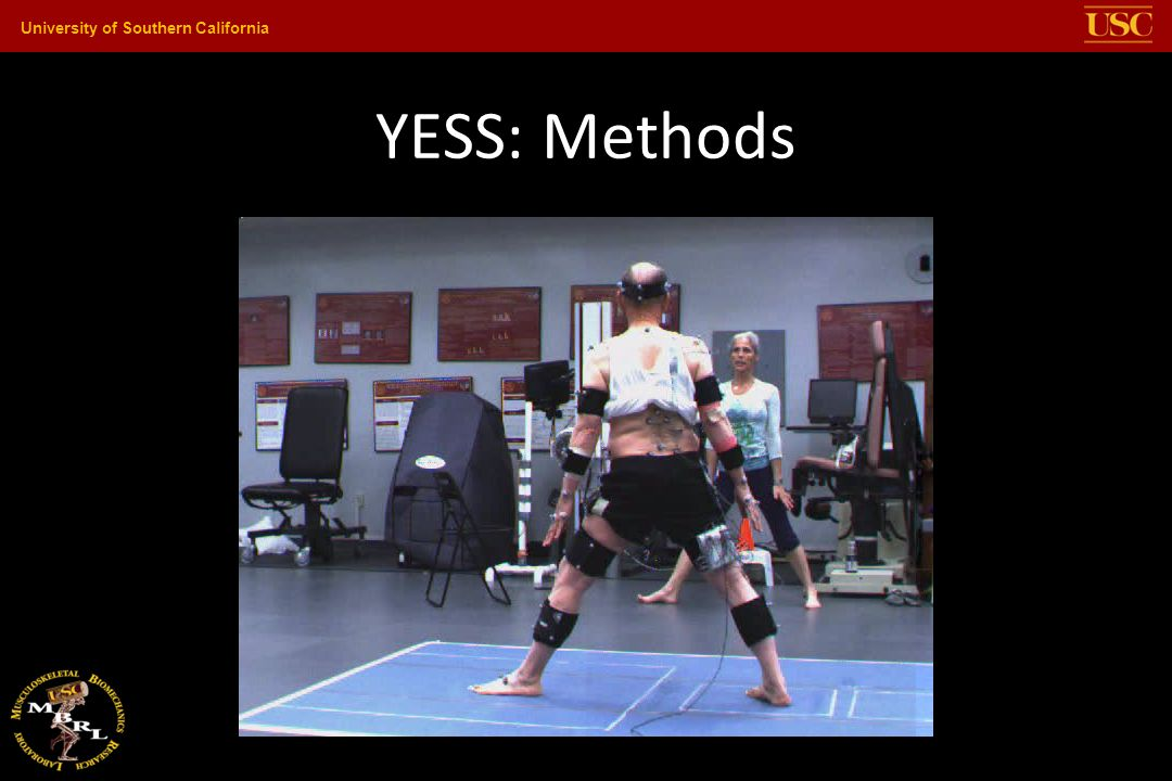University of Southern California YESS: Methods Opening Middle & Closing Sequences