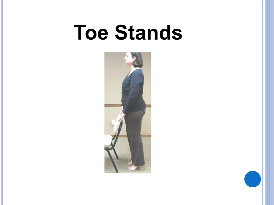 Toe Stands