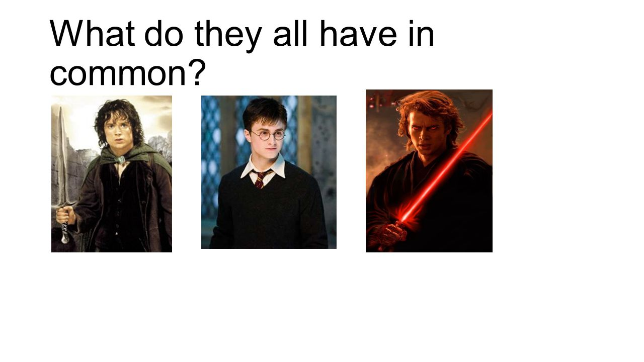 What do they all have in common