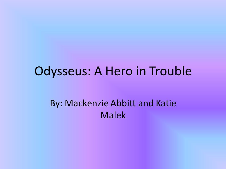 What Makes a Hero.In epics, there are many common traits shared by all heroes.